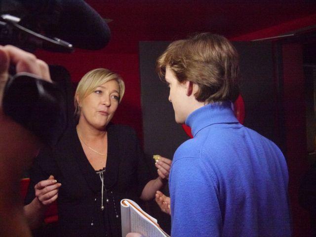 Marine Le Pen & Charles