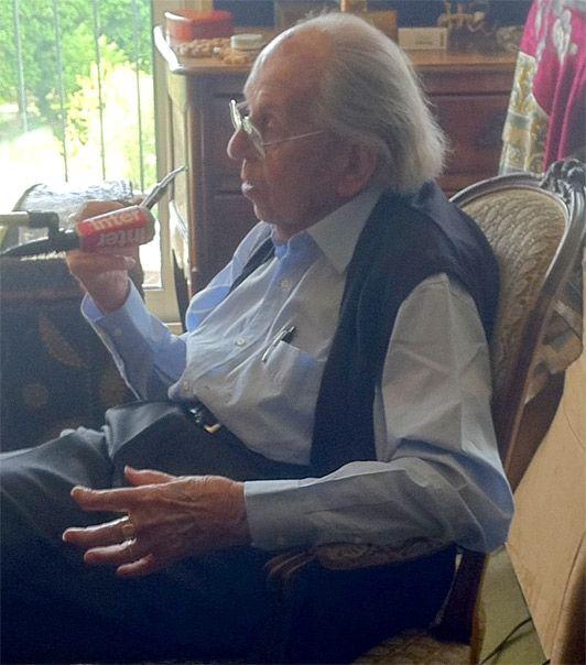 le grand entretien chez Raymond Aubrac
