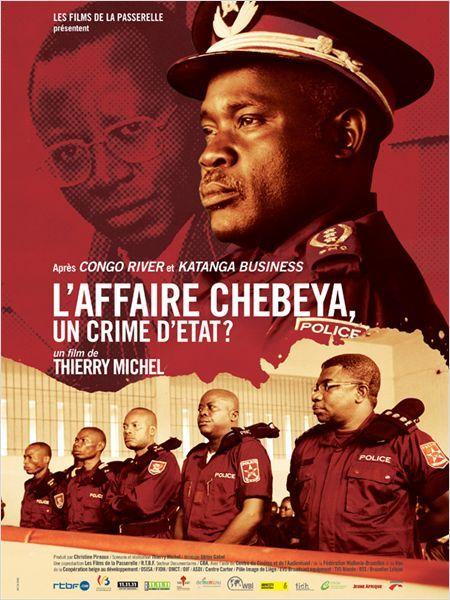 Affiche du film de Thierry Michel, L'Affaire Chebeya, un crime d'Etat ?