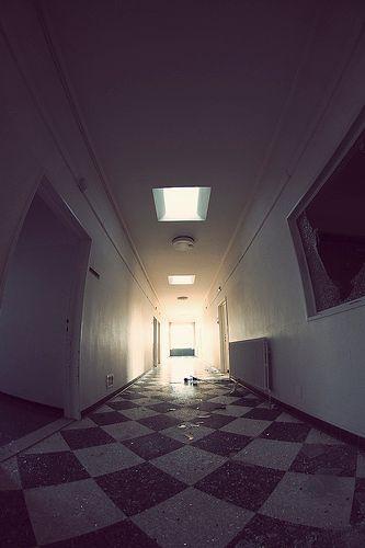 Hôpital détruit