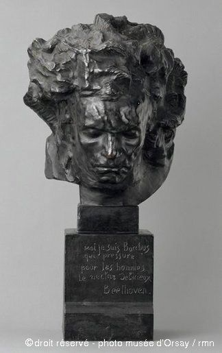 Ludwig van Beethoven de Antoine Bourdelle