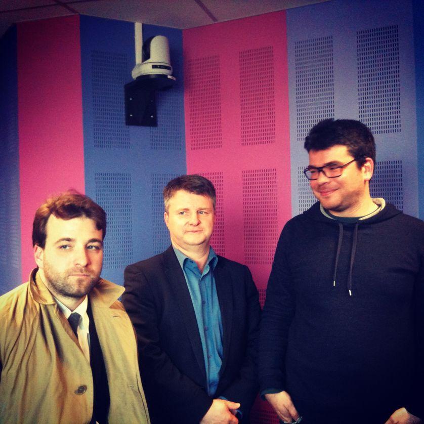 Jean-Baptiste Soufron, Eric Brousseau, Patrice Lamothe