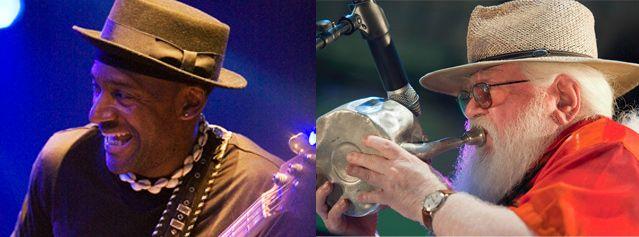 Marcus Miller et Hermeto Pascoal
