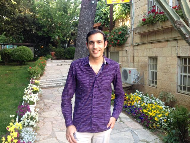 Daniel Jonas, le président de Havruta, une association de juifs religieux homosexuels