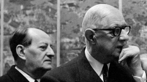 André Malraux et le général de Gaulle