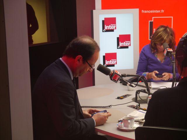 François Hollande & Pascale Clark