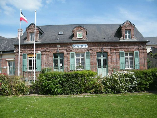 La Mairie d'Amblainville dans l'Oise