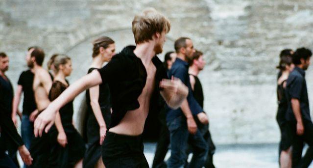 Anne Teresa de Keersmaeker - Cesena performance pictures / Palais des Papes - Avignon