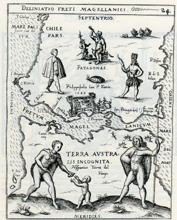 """Carte """"Fretum Magellanicum"""""""