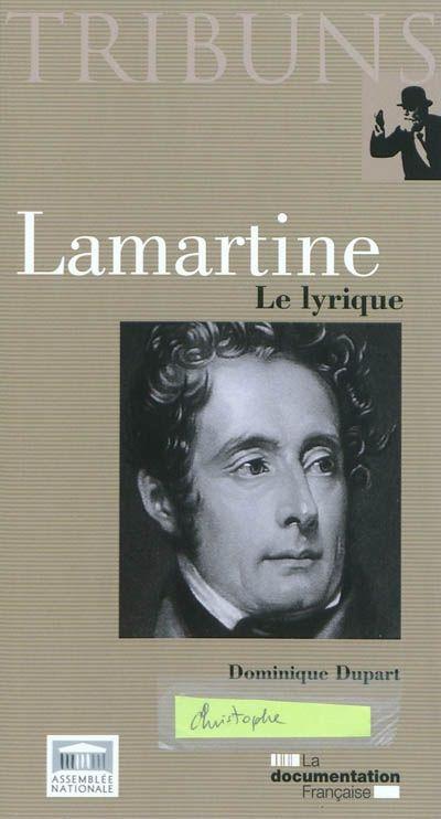 Lamartine : le lyrique