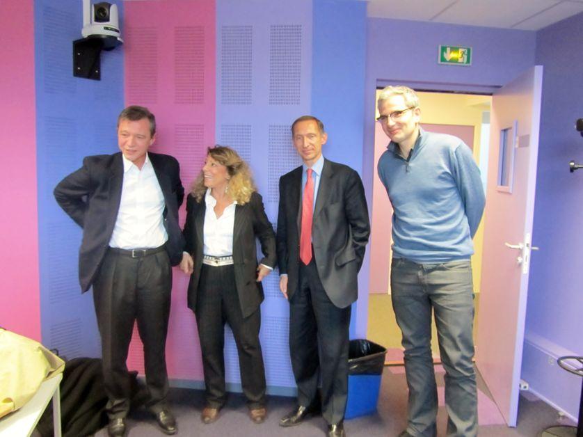 Stéphane Rozès, Barbara Cassin, Nicolas Baverez et Martin Legros