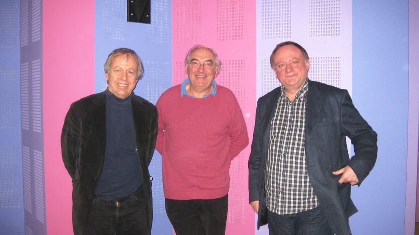 Bernard Maris, Christian Laval et Jean-Marc Daniel