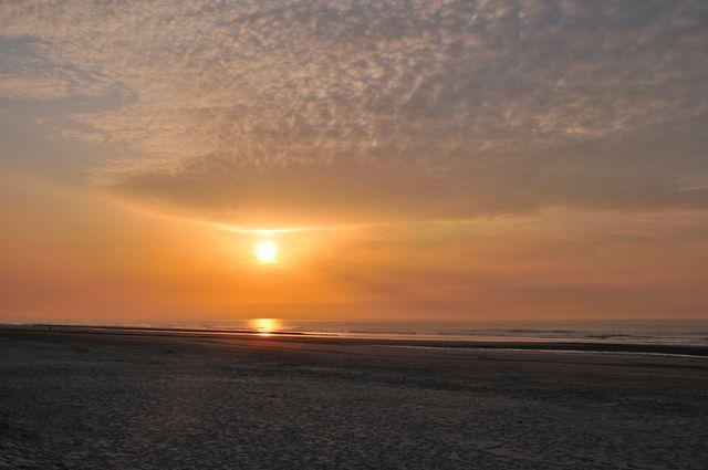 Coucher de soleil à Malo Bray-Dunez