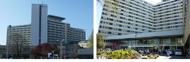 L'hôpital Pellegrin à Bordeaux