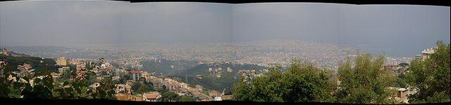 Panorama - Beyrouth
