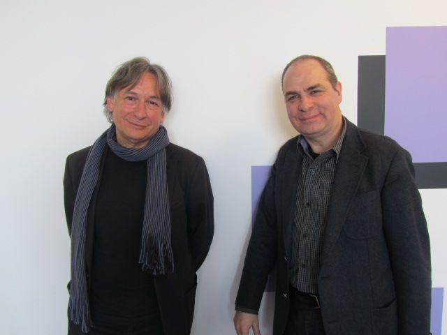 Jean ROUAUD et Philippe CASSARD.
