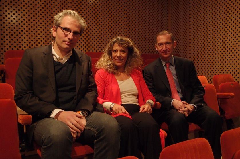 Martin Legros, Barbara Cassin, Nicolas Baverez