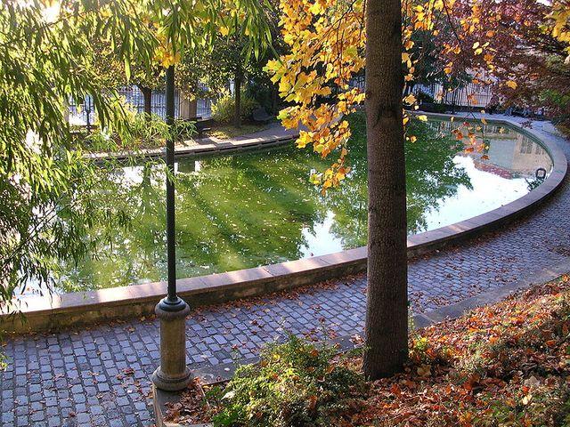 Fontaine -Parc de Belleville