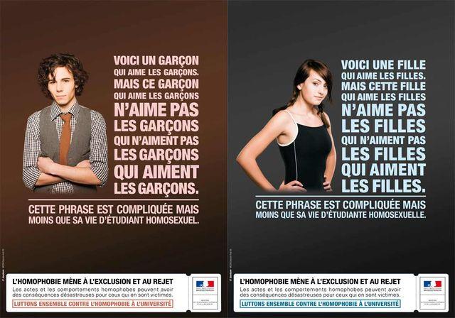 Campagne de lutte contre l'homophobie