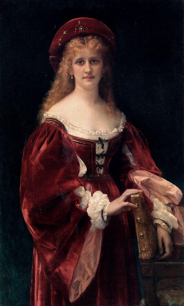 Patricienne de Venise par Alexandre Cabanel - 1881