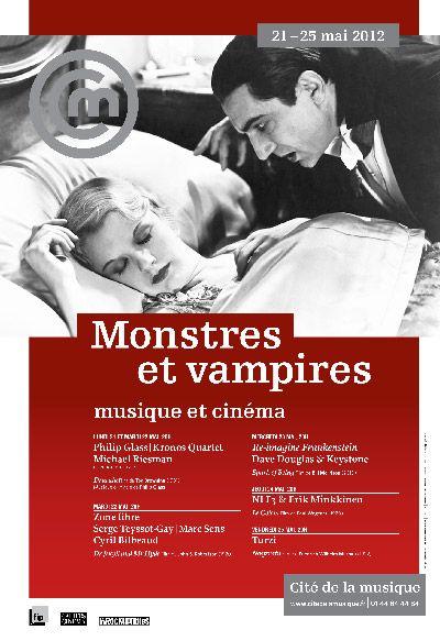 Monstres et vampires - Cité de la musique