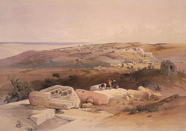 Gaza par David Roberts - 1839