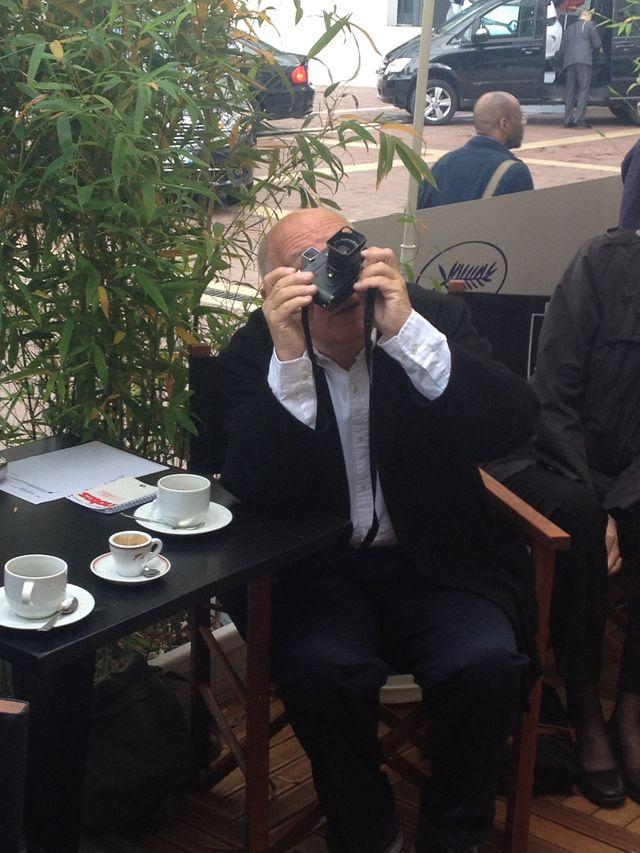 Raymond Depardon durant le 7/9 à Cannes