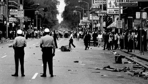 Emeutes raciales à Detroit en 1967