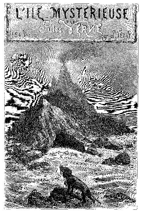 Jules Verne - l'ile mystérieuse