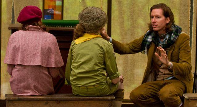 Wes Anderson dirigeant Jared Gilman et Kara Hayward