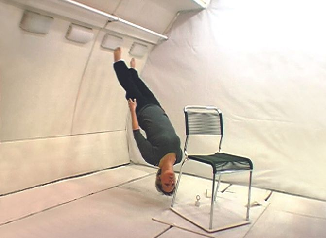 Kitsou Dubois  compagnie Ki productions  campagne de vol CNES 2004