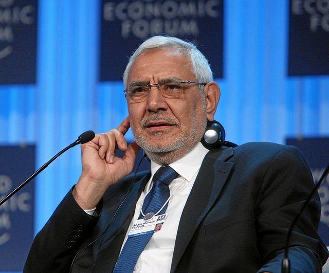 Abdel Moneim Aboul Fotouh, l'un des candidats à l'élection présidentielle egyptienne