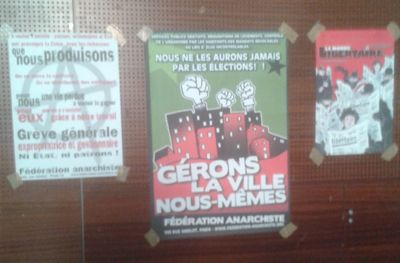 Affiches libertaires