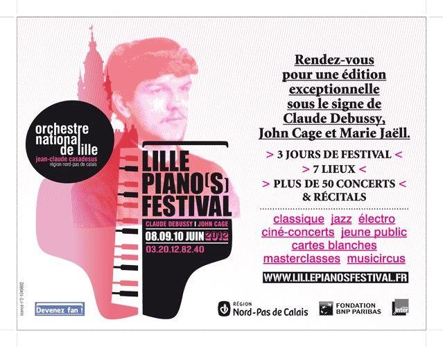 Lille Piano(s) Festival 2012