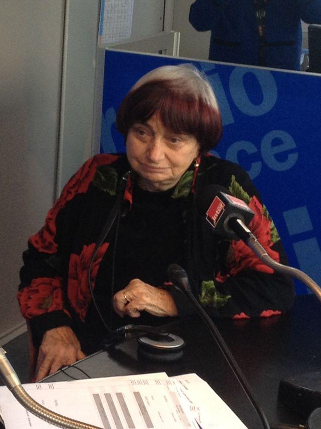 Agnès Varda dans le 7/9 à Cannes