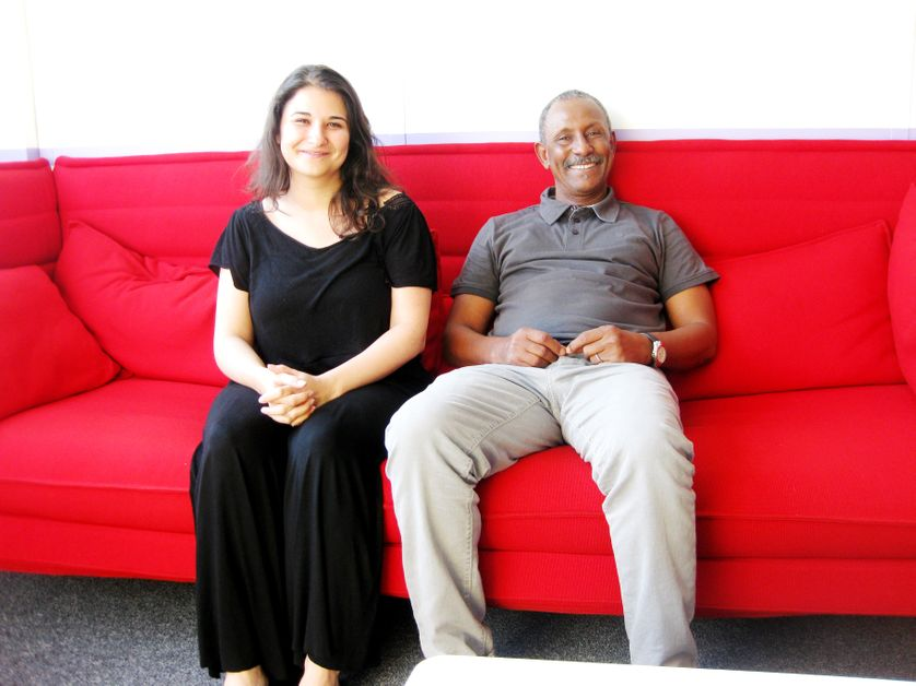 Clara JAMART et Faliry BOLY