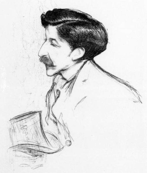 Portrait de Pierre Louÿs par Henry Bataille