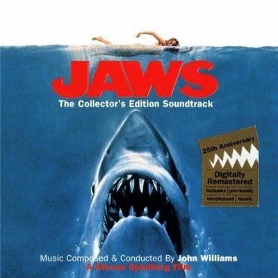 Jaws, CD de la musique du film de Steven Spielberg