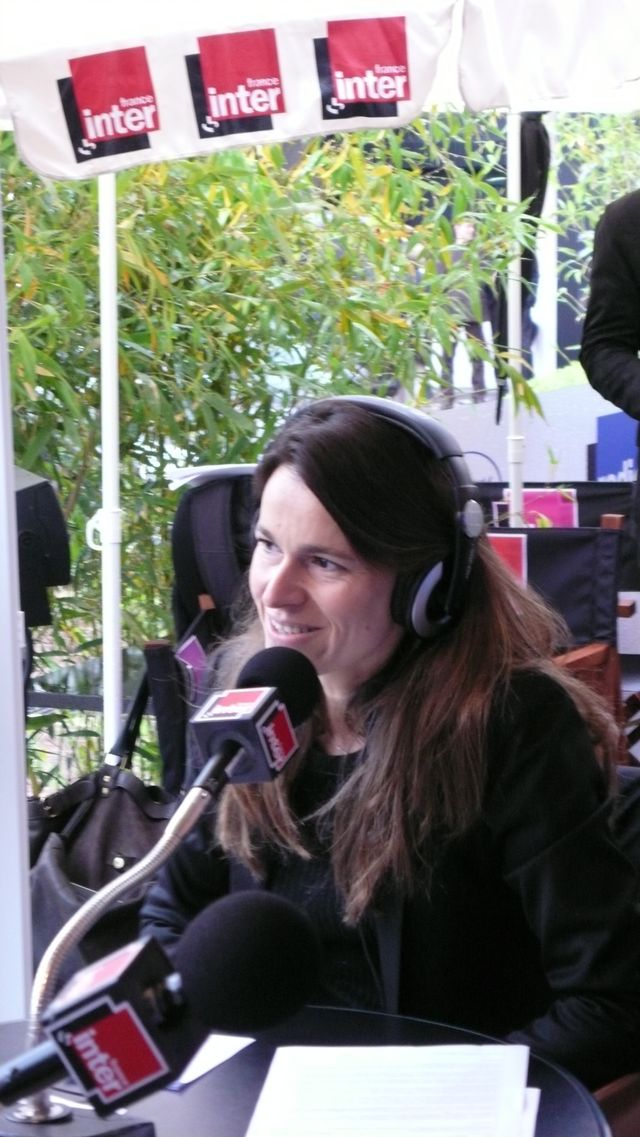 Aurélie Filippetti en direct de Cannes