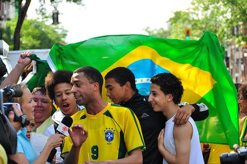Supporters brésiliens