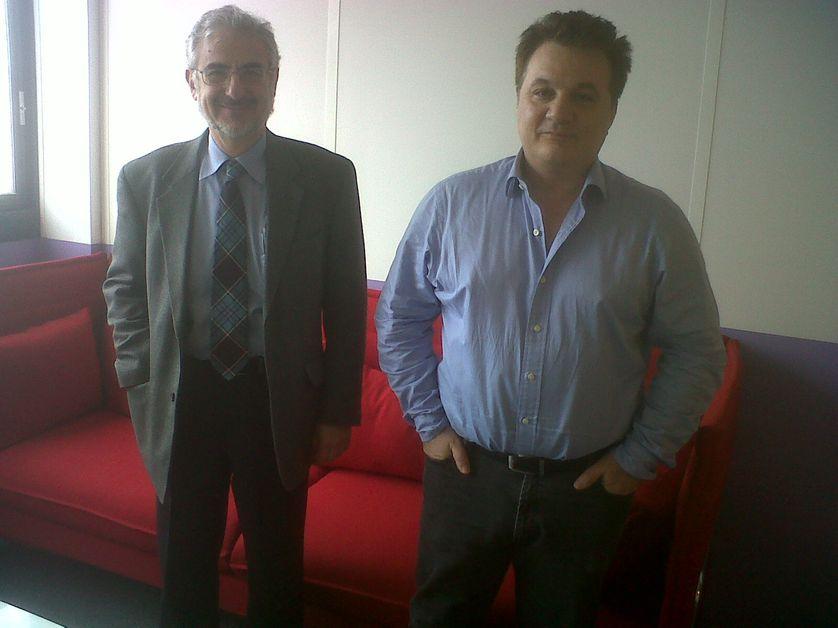 Georges Prévélakis et Michel Vakaloulis
