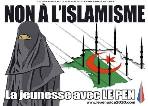 Non à l'islamisme
