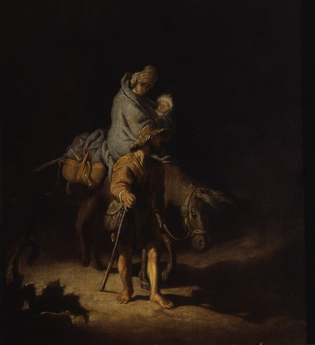 Rembrandt VAN RIJN - La Fuite en Egypte