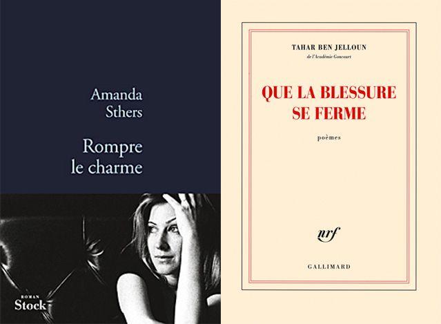 Couvertures des livres d' Amanda Sthers  et de Tahar Ben Jelloun