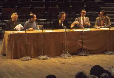 La tribune cinéma, avec Georges Charensol, Jean-Louis Bory, François-Régis Bastide