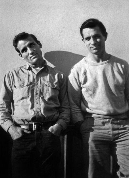 Jack Kerouac et Neal Cassady en 1952 (photographie prise par Carolyn Cassady).  © Rue des Archives/RDA
