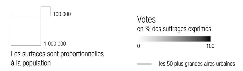 Légende vote au 2nd tour