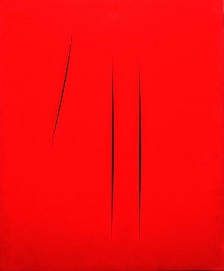 Lucio Fontana (1899-1968), Concetto spaziale, Attese (Concept  spatial, Attentes)