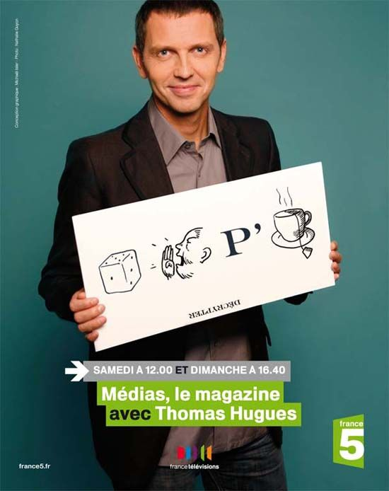 Média, le magazine - Thomas Hugues