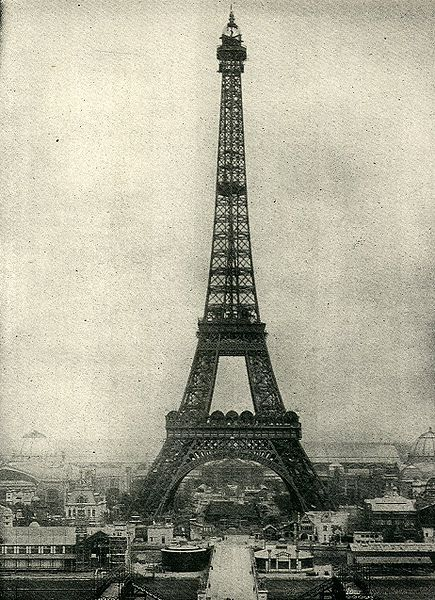 Paris, Tour Eiffel, c.1890